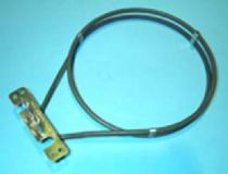 38BY0005 Resistencia para horno Balay 2000W turbo Distancia de anclaje 100 mm